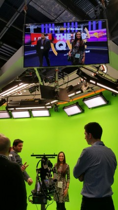 VIZRT GREEN SCREEN
