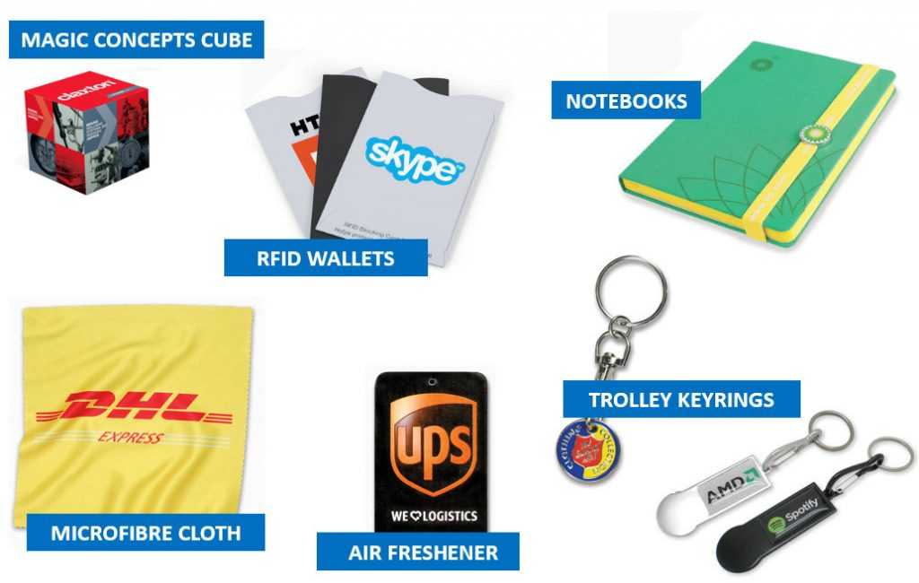 AR promotional items