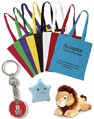 Promotional merchandise bags