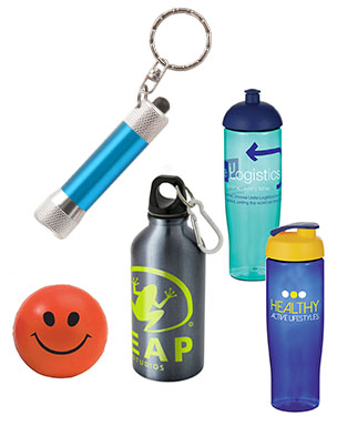 Promotional merchandise bottles