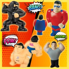 SUPER HERO STRESS RELIEVERS