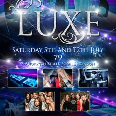 Luxe Event E-Flyer