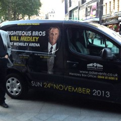 Bill Medley with the 60's Unchained and Live Van