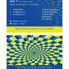 Jass V Business Card