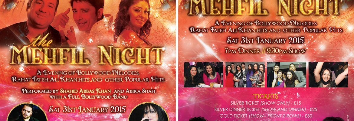 The Mehfil Night at Abbey Manor 31st January