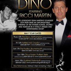 DINO May Tour Flyer