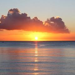 Sunset, Mauritius