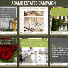 Adamo Estates Social Media
