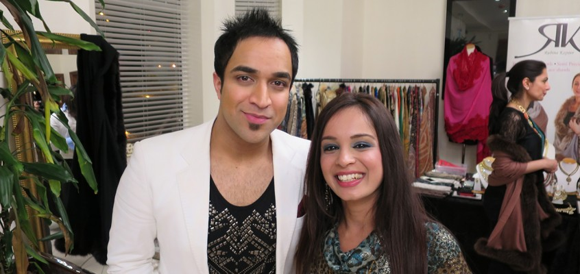 Karizmatic Meets Navin Kundra At Bollywood Fashionista