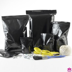 Black Grip Seal Bags