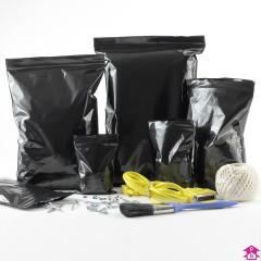 Black Grip Seal Bags