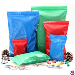 Coloured Grip Seal Bags