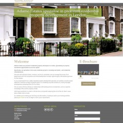Adamo Estates Website