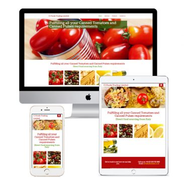 CJ Foods Trading Website