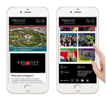 Regents University Mobile Design