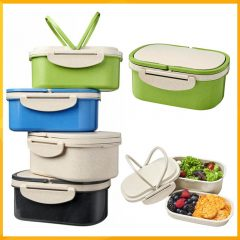 WHEAT STRAW LUNCH BOX