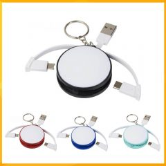 WRAP AROUND 3 IN 1 CHARGING CABLE